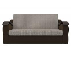 Прямой диван из рогожки Меркурий
