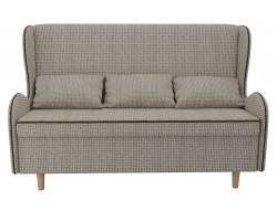 Прямой диван из рогожки Сэймон