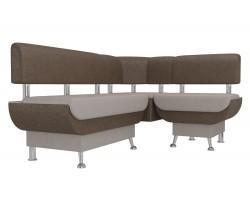 Кухонный угловой диван Альфа Правый