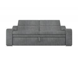 Прямой диван из рогожки Медиус