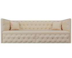 Прямой диван из рогожки Найс